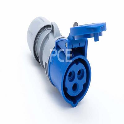 PCE Gniazdo przenośne niebieskie 32A/3P 230V 223-6