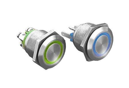 Przełącznik wandaloodporny 1-pozycyjny SPST-NO; 0,5A/24VDC MPI002/TERM/BL