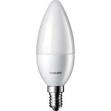 Żarówka LED Philips CorePro candle 4-25W E14 827 250lm B35 Frosted